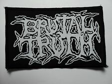 BRUTAL TRUTH LOGO WOVEN  PATCH