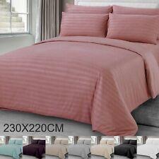 2.3*2.2m Luxury Satin Duvet Quilt Cover Bedding Set Single Double King Size