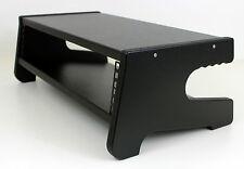 """19"""" 2U Desktop Studio Estuche Vaina De Rack Muebles Del Gabinete Negro Con Textura"""