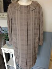NICOLE FARHI COAT VINTAGE INSPIRED SWING  LIGHTWEIGHT UK 12