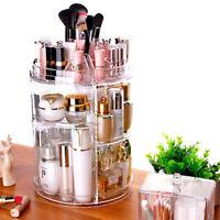 Acrylique Rangement Cosmétique Maquillage Organisateur Boîte Transparent