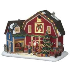 Lemax ~  Christmas At The Farm Prelit Village Building