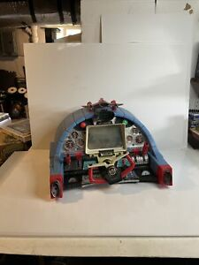 Vintage Working SORTA Deluxe Reading TV Jimmy Jet Flight Simulator Toy UNTESTED