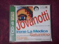JOVANOTTI IRENE LA MEDICA SATURNINO NACO - I CD DI TUTTO (4 TRACKS). CD SINGLE.