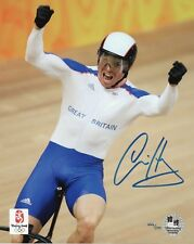 SIR CHRIS HOY Signed 10x8 Photo OLYMPIC GOLD MEDALIST Cycling Champion COA