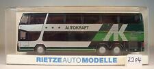 Rietze 1/87 Setra s 328 dt auto fuerza DB zugbus 41 OVP #2205
