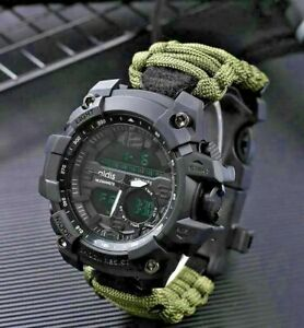 Sports Military *Watch Men Multi Function G Style Watch Water Shock prof Compass