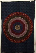 Beautiful Wall Hanging Round Mandala Design Picture Twin Tapestry Indian Ethnic