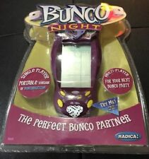 Radica Bunco Night Multi-Player Party Dice Game Electronic Handheld - New Sealed