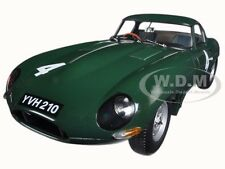 JAGUAR LIGHTWEIGHT E-TYPE SUTCLIFFE YVH210 #4 GREEN 1/18 MODEL BY PARAGON 98342