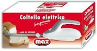 ** Coltello elettrico ** coltello elettrico doppia lama acciaio by Max Italia