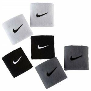Nike Herren Damen Tennis SWOOSH WRISTBANDS Schweissbänder 2er Pack Bänder 9380-4