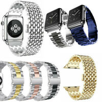 For Apple Watch iWatch Series 4 3 2 1 Stainless Steel Watch Band Bracelet Strap