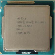 Intel Xeon E3-1275 v2 SR0PA 4 Core 3.5Ghz-3.9 GHz Socket LGA1155/H2 77W CPU 8MB