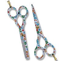 Hairdressing Scissors Salon Barber Hair Cutting Thinning Set Professional Sharp