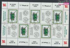 Autriche 2345Klb Feuille miniature oblitéré 2001 Jour le Timbre / wagons(9063464