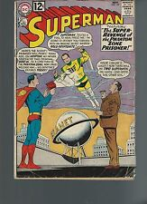 Superman #157 (1962) GD/VG 3.5 Gold Kryptonite Appearance