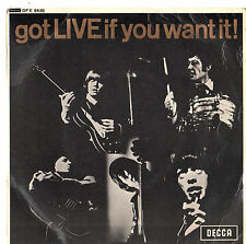 "The Rolling Stones - Got Live Of You Want It 7"" EP 1965"