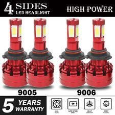 9005 + 9006 LED Headlight Kit for Chevy Silverado1500 2500 HD 2001-2006 690000LM