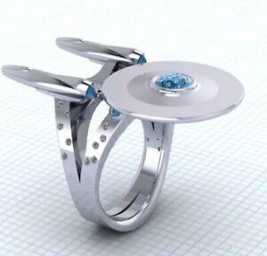Size 9 Star Trek Ring