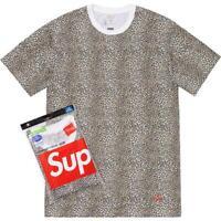 Supreme SS19 Hanes Tagless Tee (1 T-Shirt Only) Box Logo BANDANA CDG Tiger King