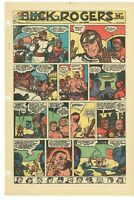 Vintage Buck Rogers #115 1952  Sunday Comic