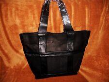 Allibelle Patchwork Market Tote Black Python Leather NWT MSRP 395.00 REDUCED !