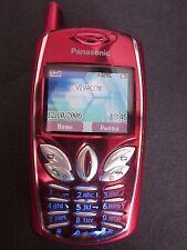 Panasonic G50 - Red (Unlocked) Cellular Phone