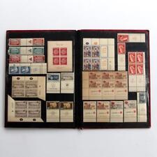 Israel 1949-1952 MNH,MH Full Tabs Lot,Toning/tropical marks.