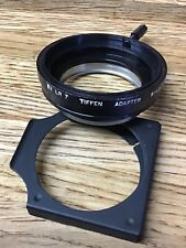 Tiffen Series 7 52  LR 7 Screw-In Adapter with Retaining Ring F1