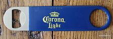 Blue Corona Extra Light Metal Beer Bottle Bartenders pocket flat Bar Opener USA