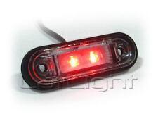 1x LED Positionsleuchte LKW Umrissleuchte Trailer Positionslicht Rot 12 24 Volt