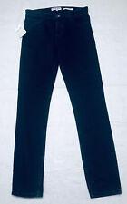 American Apparel The Sid Skinny Jean Size 31 Mens Button Fly Black Denim Wash