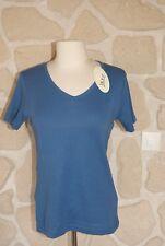 Tee-shirt bleu neuf taille S marque M.X.O étiqueté à 18€ (ng)