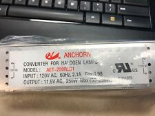 NEW Anchorn Electronic Halogen Low Voltage Transformer, 12V 250W Evrosvet
