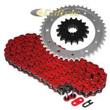 Red O-Ring Drive Chain & Sprockets Kit For HONDA VFR800F VF1000F VF1000R