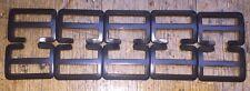 "New 1"" webbing brass buckles (x10) Black plated"