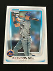 BRANDON NIMMO ROOKIE BOWMAN CHROME 2011 NEW YORK METS RC BASEBALL CARD. rookie card picture