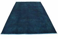 Vintage Teppich Blau in 300x200cm