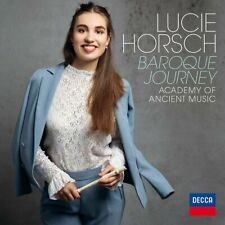 LUCIE HORSCH - Baroque Journey CD *NEW* 2019 Academy Of Ancient Music