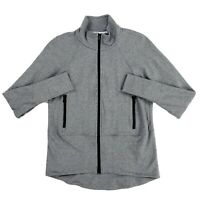 Cabi Pivot Jacket Style #3732 Size Medium Gray Full Zip Up Hoodie Size XS