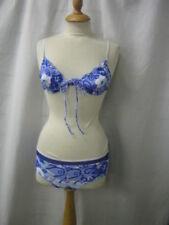 Ropa de baño de mujer de color principal azul de lycra