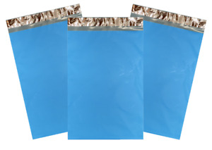 BLUE Poly Mailers | Choose Size & Quantity | Small or Large ~ Thick 2.35 mil