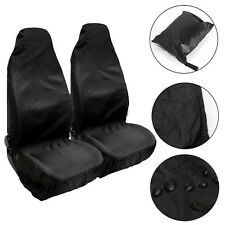 Universal Waterproof Pair Of Front Seat Cover Protector Car Van Nylon Heavy Duty