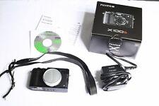 Fujifilm X100S 16.3MP Digital Camera Mint Condition with Original Box - Black