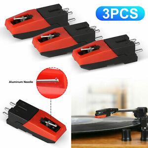 Diamond Stylus Needle Vinyl Turntable Cartridge for LP Record Player Phonograph