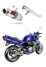 Exhaust silencer muffler DOMINATOR GP I SUZUKI GSF 600 BANDIT 00-04 + DB KILLER