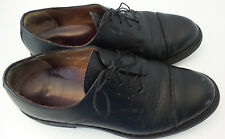 MEPHISTO Cap Toe Oxfords Black Mens Size 8.5 Goodyear Welt Air-Relax France