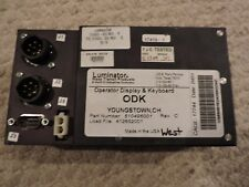 LUMINATOR MARK IV ODK3 OPERATOR SIGN CONTROLLER AND KEYPAD, P/N 510496001, NEW!