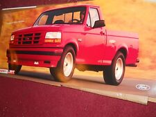 1993 FORD LIGHTNING SVT F-150 F150 DEALERSHIP PROMO WALL POSTER RARE UNCOMMON